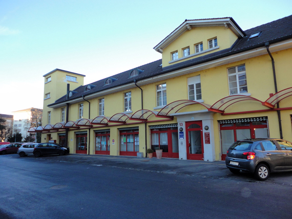 Haus der Praxis Biloba in Thun